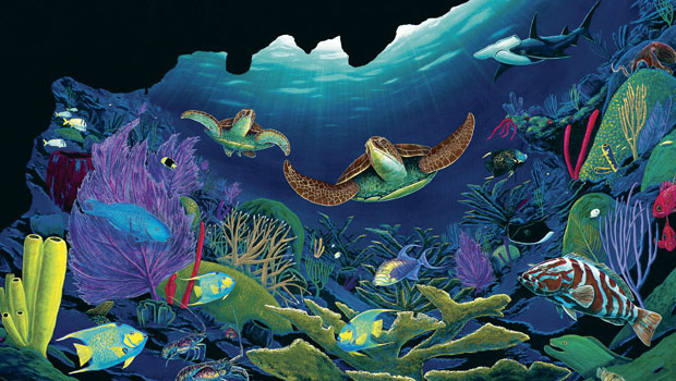 Get your signed limited edition of Wyland Ocean Realm Journal