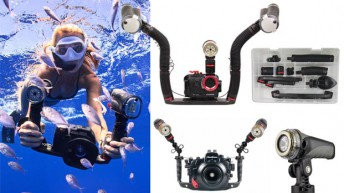 Nearly all UW Cameras, Light Brands compatible with Sealife Flex-Connect