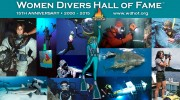Women Divers Hall of Fame Inducts Six New Members at Beneath the Sea Show