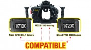 SEA&SEA MDX-D7100 Housing: Compatible with Nikon D7200 Digital SLR Camera