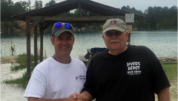 E.K. and Sally Sowell to be Course Directors for Texan Scuba at The Blue Lagoon