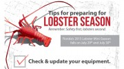 DEMA Updates Safety Poster, PSA for upcoming Florida Mini-Lobster Season