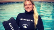 Mandy Sumner Wins Two Silver Medals at International Freediving Competition
