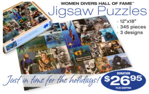 Women Divers Hall of Fame Releases New Jigsaw Puzzles Just in Time for the Holidays